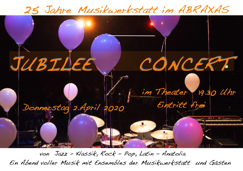 Jubilee Concert – 25 Jahre Abraxas –